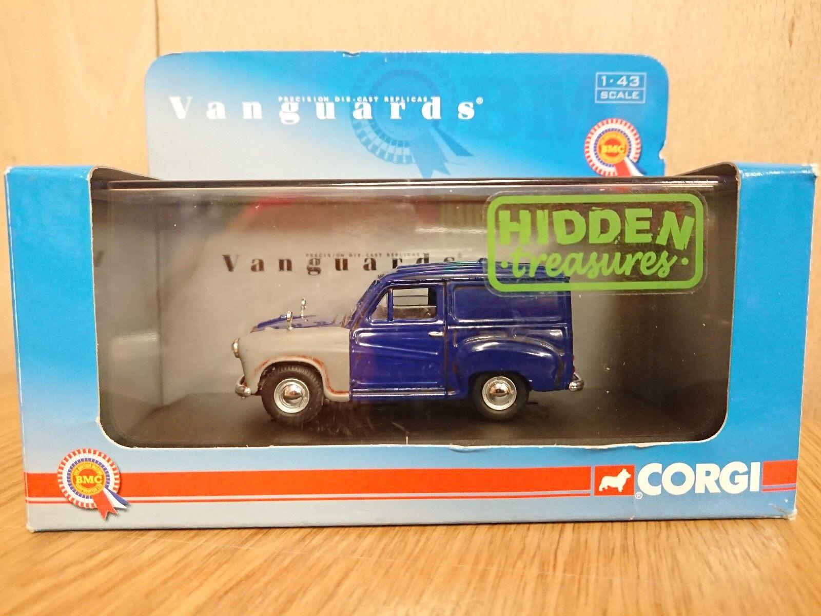 Corgi VA01708 Hidden Treasures Austin A35 Van bluee Ltd Edition No. 0002 of 3010