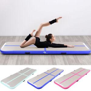 Air-Track-Gymnastikmatte-Trainingsmatten-Tumbling-Matte-aufblasbar-inkl-Pumpe