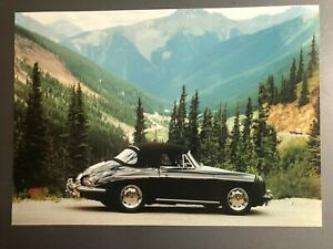 1965-Porsche-356-C-Cabriolet-Picture-Print-Poster-RARE-Awesome