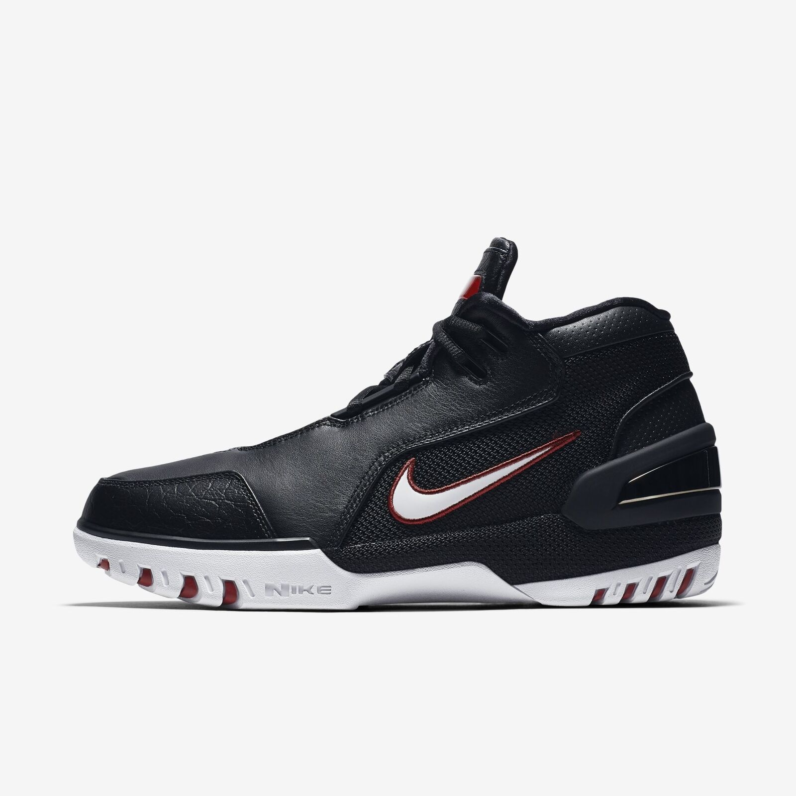 Men's Nike Air Zoom Generation QS Shoes Black White Crimson Size 7 AJ4204 001