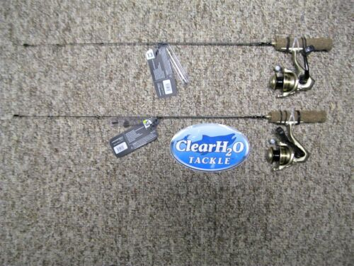 "2PK 13 pêche Microtec 27/"" ultra light Ice Pêche Combo avec ressort Bobber"