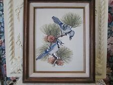 "Charles E Murphy ""Blue Jays"" Print on Canvas"