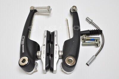 SRAM 9.0 Linear Pull Bike V-Brake Front Rear Black