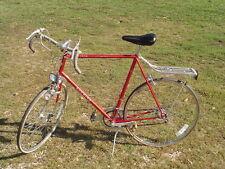 "*LPU* Vintage Red SCHWINN LE TOUR 10 Speed 27"" Bike 34 1/2 standover generator"