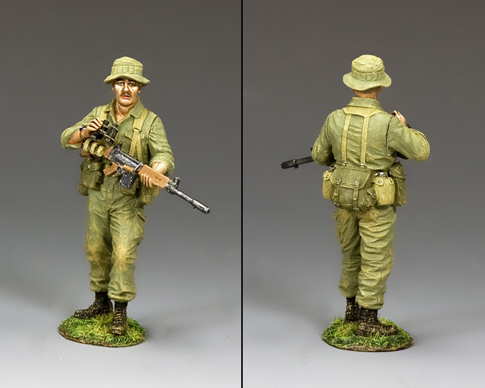 KING & COUNTRY VIETNAM WAR VN031 AUSSIE PATROL COMMANDER MIB