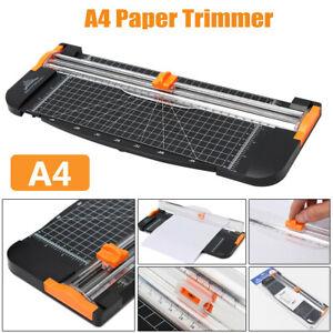 Heavy Duty A4 Guillotine Ruler Paper Cutter Trimmer Cutter Ruler Home Office Art