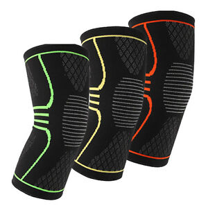 Unisex-Fit-Knee-Recovery-Compression-Sleeve-Support-Protective-Brace-Run