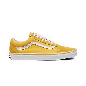 vans scarpe gialle