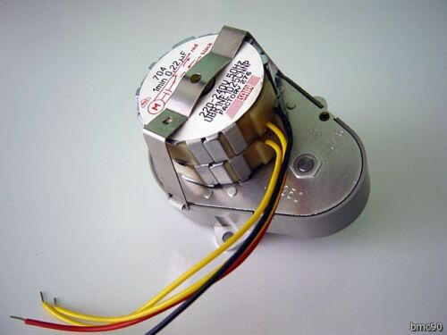 avec condensateur MOTEUR SAIA STYLE CROUZET 220 V 50 Hz 1 TOUR//mn 1 rpm