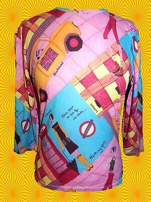 156✪  punky groovy 70er 80er Jahre Punk Shirt british underground Pop Art