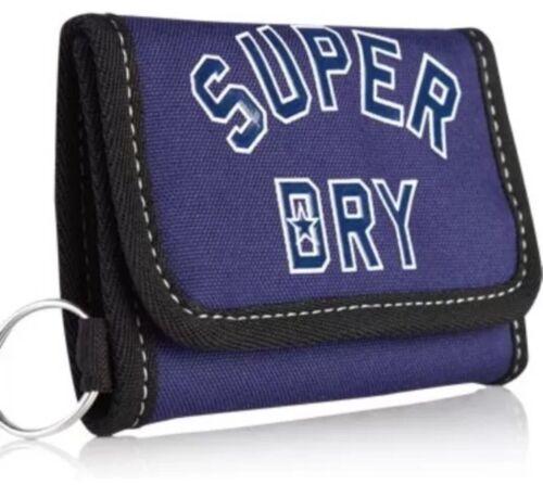 SUPERDRY Wallet American League bi fold wallet Notes Coins Key Holder