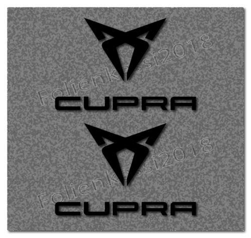 Cupra 4 Pcs Autocollants-Set LEON TOLEDO 30 Couleurs SEAT 013