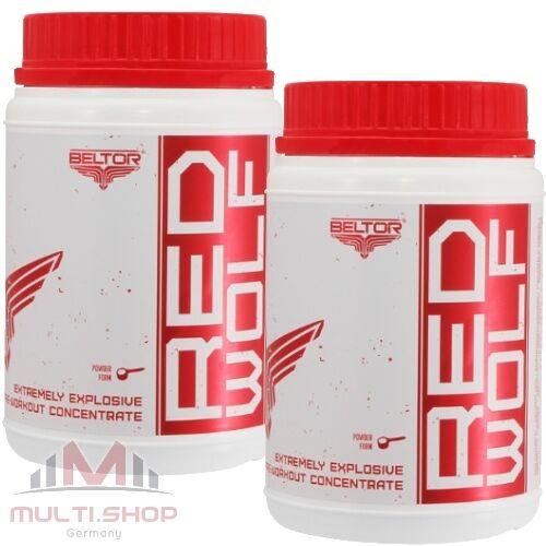Beltor RED WOLF 900g - Neu Top Super Pre Workout Booster Muskelaufbau Pump Kraft