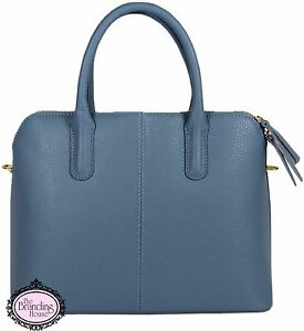 Ladies-Vera-Pelle-Italian-leather-grab-amp-shoulder-bag