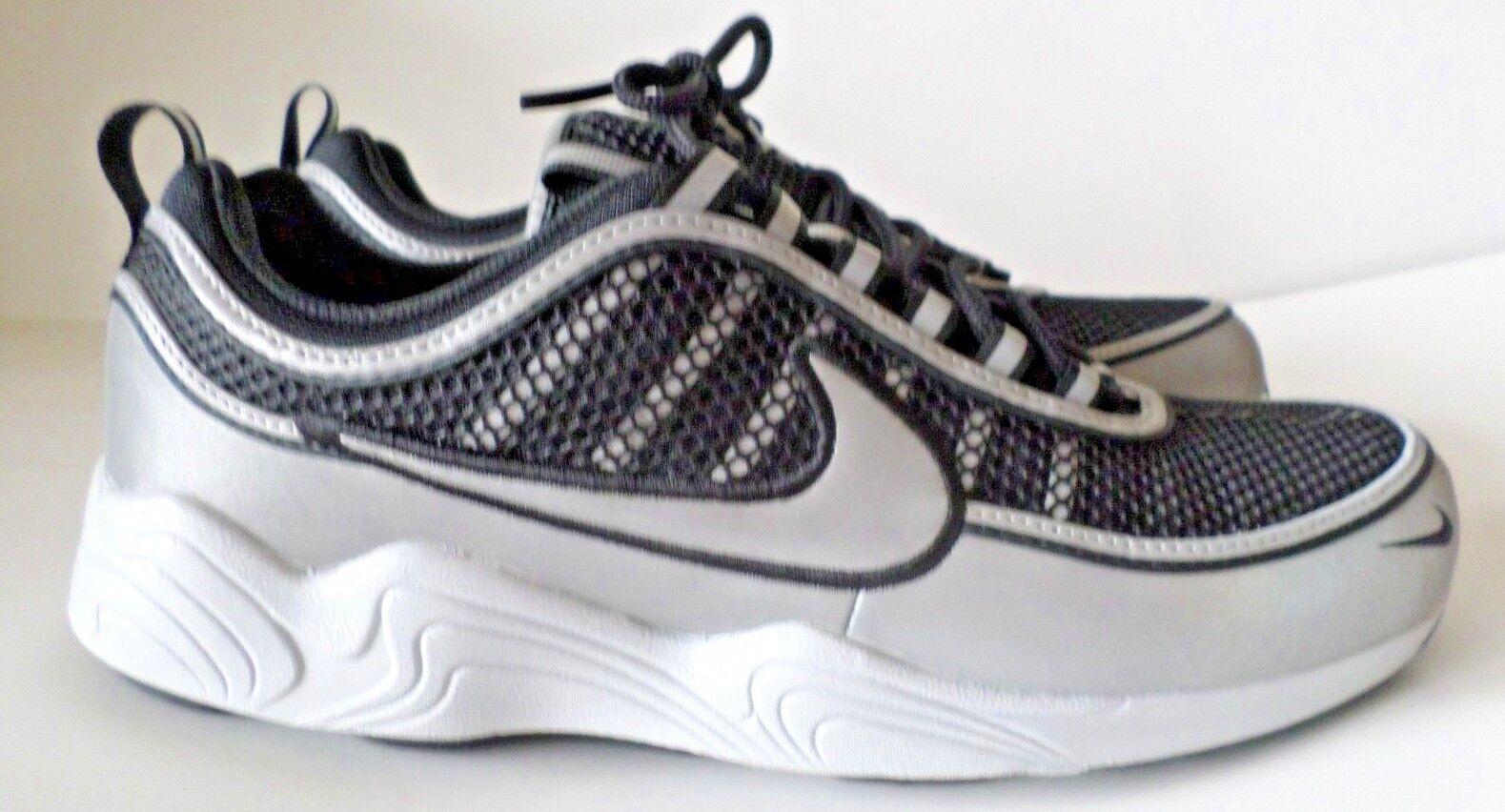 the latest d9c4b a1a56 Nike Nike Nike AIR ZOOM SPIRIDON  16 Mens Sneaker 926955-003 Black, Silver