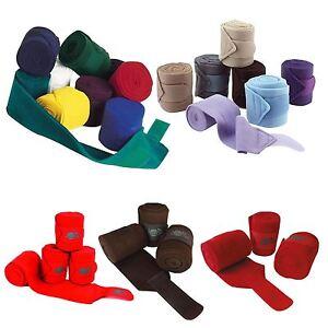 Jumptec double face polo bandages-set de quatre blanc-afficher le titre d`origine uNFHgf9H-07165650-208310116