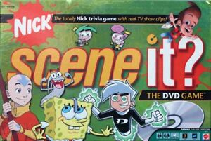 Nick-Scene-it-DVD-Board-Game-Replacement-Parts-amp-Pieces-2006-Mattel-Nickelodeon