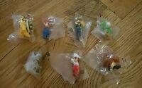 Series 7 Complete Set Super Mario K'nex Figures - Inc Rare & Elites (dry Bones)