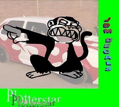 Fabulouse Monkey Guy  Aufkleber Sticker Sieger Autoaufkleber JDM Hater Fun