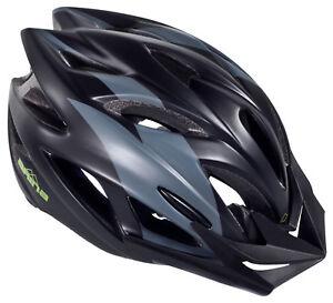 NEW ARINA RAID CYCLE HELMET ADULT BLACK /& BLUE MTB BICYCLE CYCLING BIKE