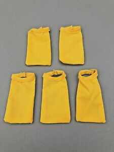 5-21ST-CENTURY-TOYS-YELLOW-ASCOTT-NECKERCHIEFS-FOR-1-6TH-SCALE-OR-12-034-FIGURES