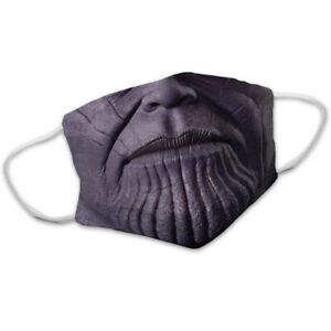 Funny Avenger Evil Thanos Washable Face Mask Mouth Cover Combo Pack Ebay