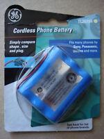1 Ge Cordless Phone Battery Tl26154 Panasonic Sony Toshiba Uniden 3.6 V 700 Mah