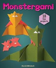 Monstergami by David Mitchell (2014, Hardcover)