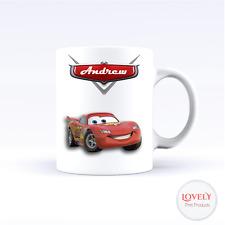 CARS 3 LIGHTNING MCQUEEN BIRTHDAY CERAMIC PERSONALISED MUG COFFEE TEA CUP FILM