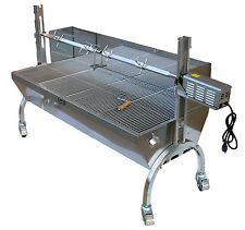 Stainless Steel BBQ,Pig,Lamb,Goat,Chicken Spit Roaster,Rotisserie Spit,Model-SS1