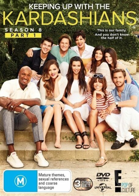 Keeping Up With The Kardashians : Season 8 : Part 1 (DVD, 2013, 3-Disc Set)