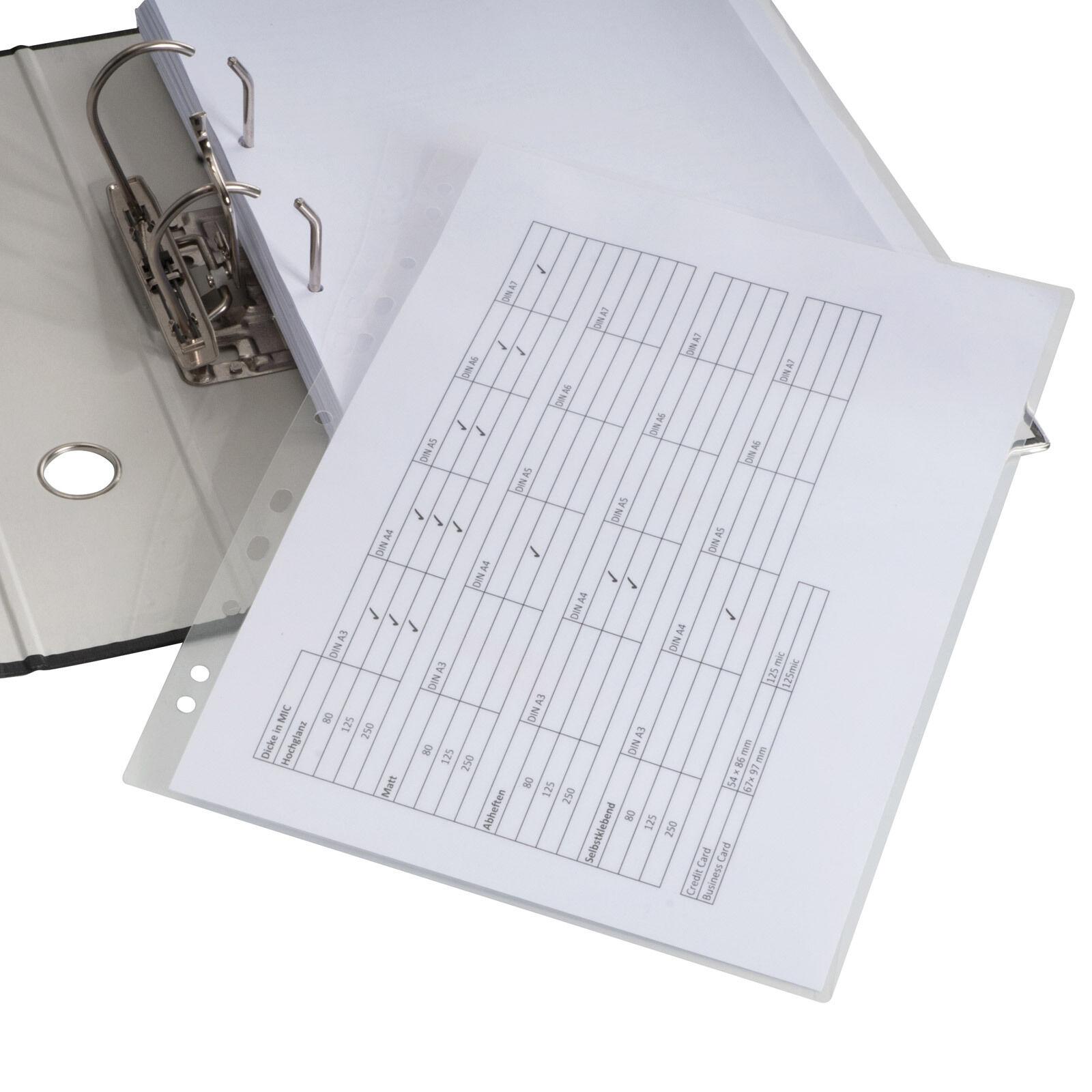 Schutzfolie Laminierfolie für Arbeitsblätter Lehrmaterial Urkunden Zertifikate   Innovation    Gutes Design    Preiszugeständnisse