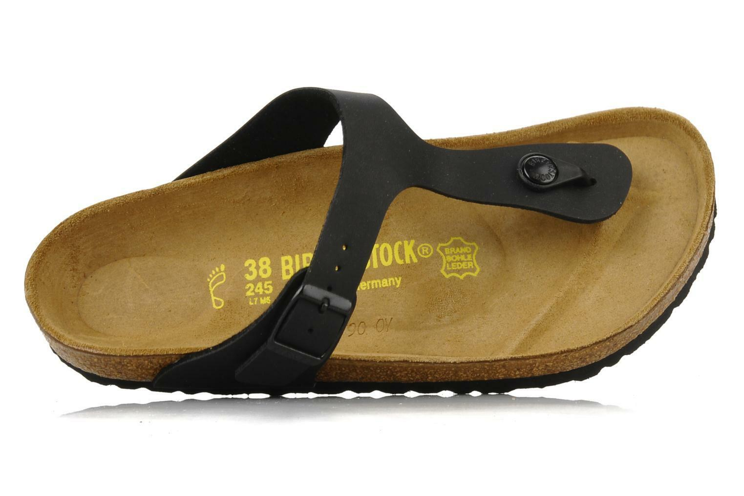 7559b46e7beb Birkenstock Gizeh Women s Sandal - Black for sale online