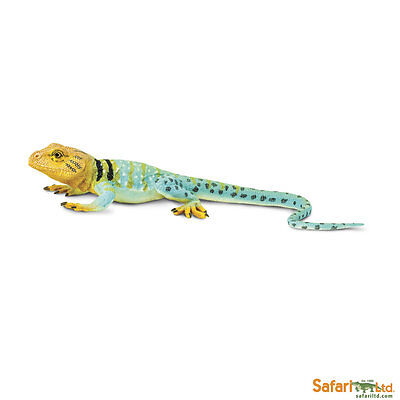 Knowledgeable S271029 Safari Ltd Figurine Necklace Iguana Unbelievable Creatures Animals & Dinosaurs