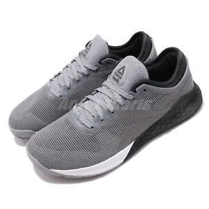 Détails sur Reebok Nano 9 Grey Black White Men CrossFit Cross Training Shoes Sneakers FU6827