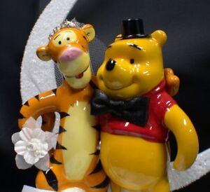 Image Is Loading Tigger Bride Amp Winnie The Pooh Groom 034