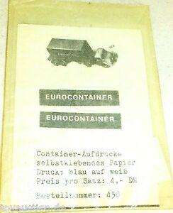 Eurocontainer-Impression-Smo-430-Autocollant-pour-Wiking-A