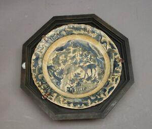 Uralter Teller Sammlerteller PERSIEN  Islamische Keramik Ton sehr selten