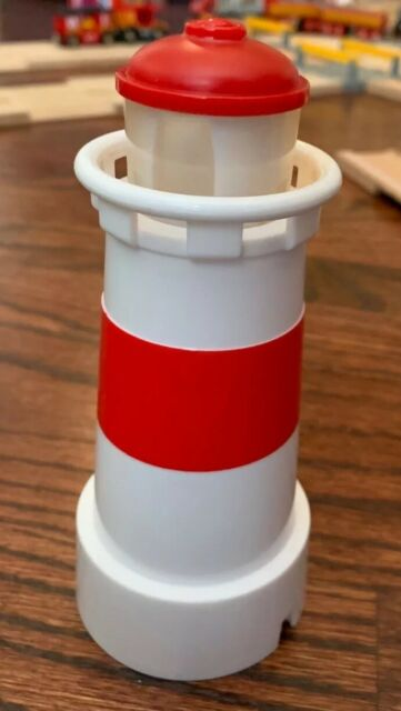 Brio Lighthouse Action Light Sound Replacement House For Boat Barge Thomas Train