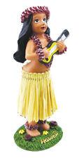 "KC Hawaii Girl with Ukulele Dashboard Doll - 4"""