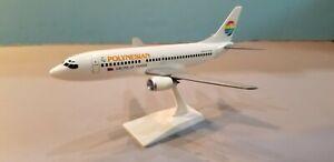 NOSTALGAIR-MODELS-POLYNESIAN-AIRLINES-737-300-1-200-SCALE-PLASTIC-SNAPFIT-MODEL