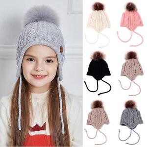 Cute-Toddler-Kids-Girl-amp-Boy-Baby-Infant-Winter-Warm-Crochet-Knit-Hat-Beanie-Cap