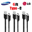 6Ft-2M-Type-C-USB-C-Fast-Charger-Data-Sync-Cable-Cord-OEM-Samsung-Android-HTC-LG miniature 1