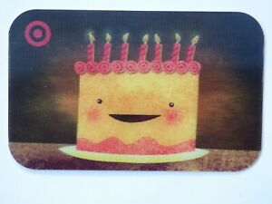 Target-Gift-Card-Lenticular-Birthday-Cake-Candles-Older-2008-No-Value
