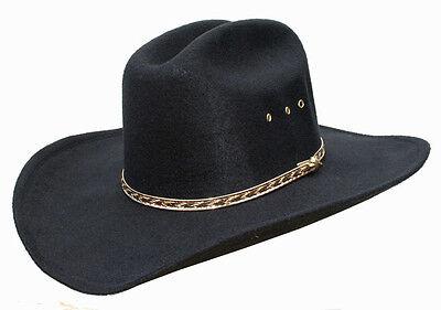 Da Uomo O Donna Paese Cowboy Western Stetson Nero Cattleman Hat Line Dance-mostra Il Titolo Originale Domanda Che Supera L'Offerta