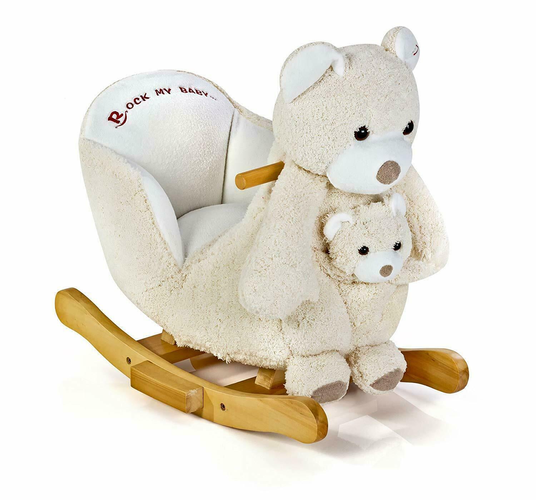 Knorr-baby 60047 Schaukelbär Polar 2 in1 mit Handpuppe NEU