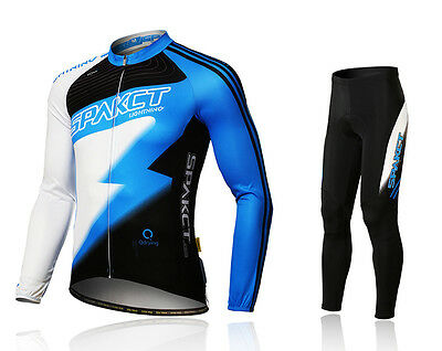 Spakct Cycling Suits Long Jersey Long Sleeve & Pants-Lightning Sportwear
