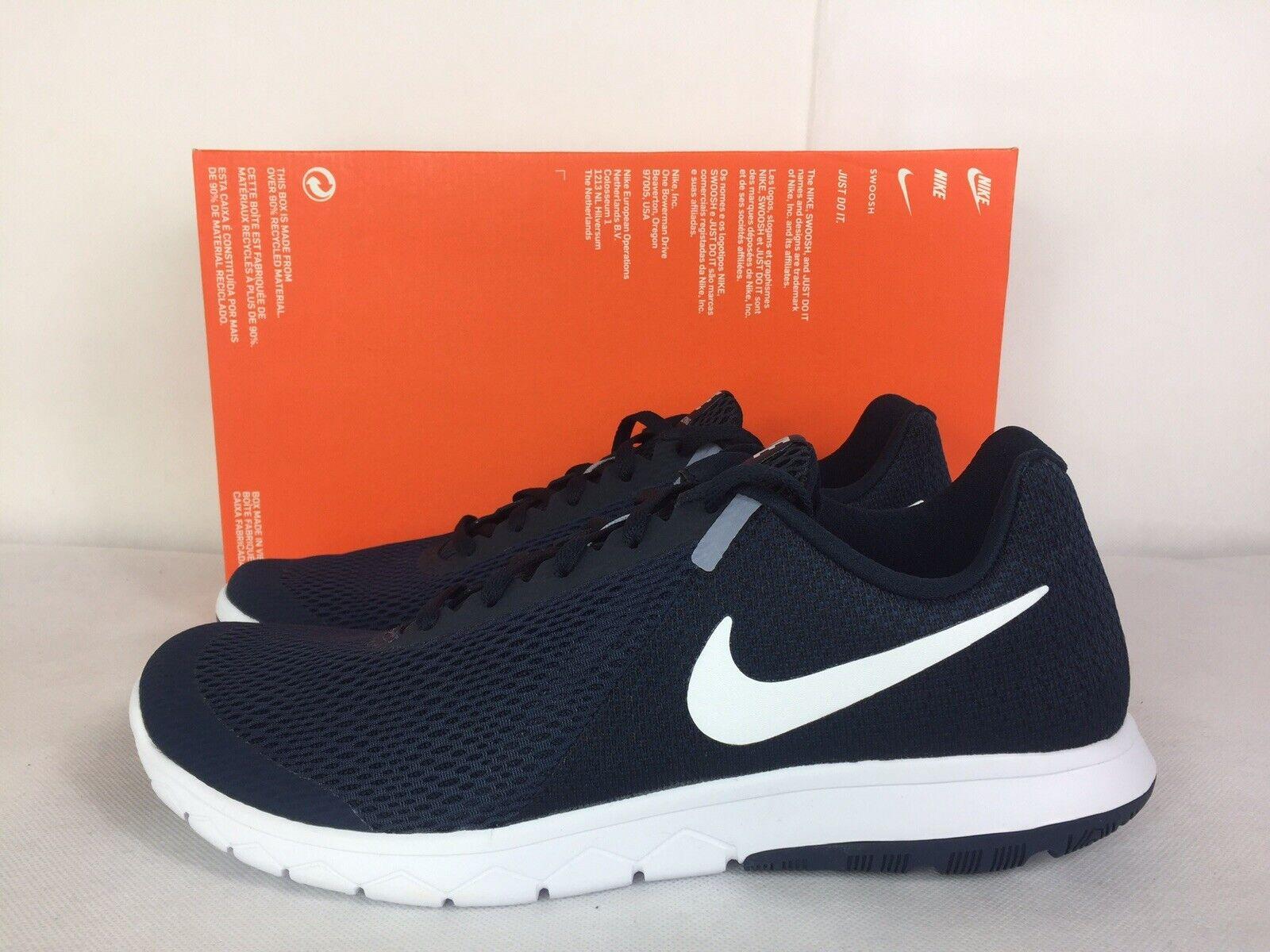 Nike Flex Experience RN 6 Running shoes Men Size 9 bluee Dark Obsidian 881802 403