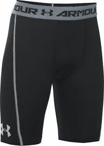 Intelligent Under Armour Coolswitch Ajustée Junior Boys Short Court Noir Collants Youth Xl-afficher Le Titre D'origine