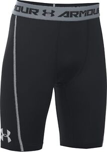 Under-Armour-coolswitch-Ajustee-Junior-Boys-Short-Court-Noir-Collants